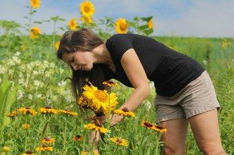 Kert, ahol  elfelejtett virágokat is gondoznak