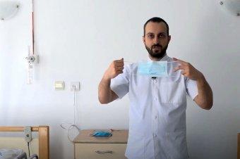 Hogyan viseljük helyesen a szájmaszkot? Járványtanász főorvos videós tanácsai