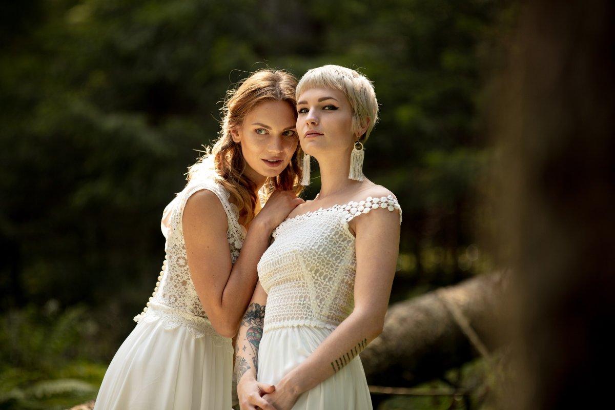 Egy menyasszonyi ruha is lehet kényelmes e113e8d1e4
