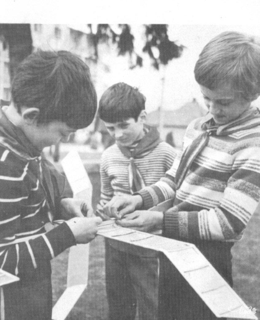 Repülőmodellező pionírok (Farkas Arnold és Jakab Alpár gyűjtése) •  Fotó: A Nagy Imre Általános Iskola diákjainak gyűjtése