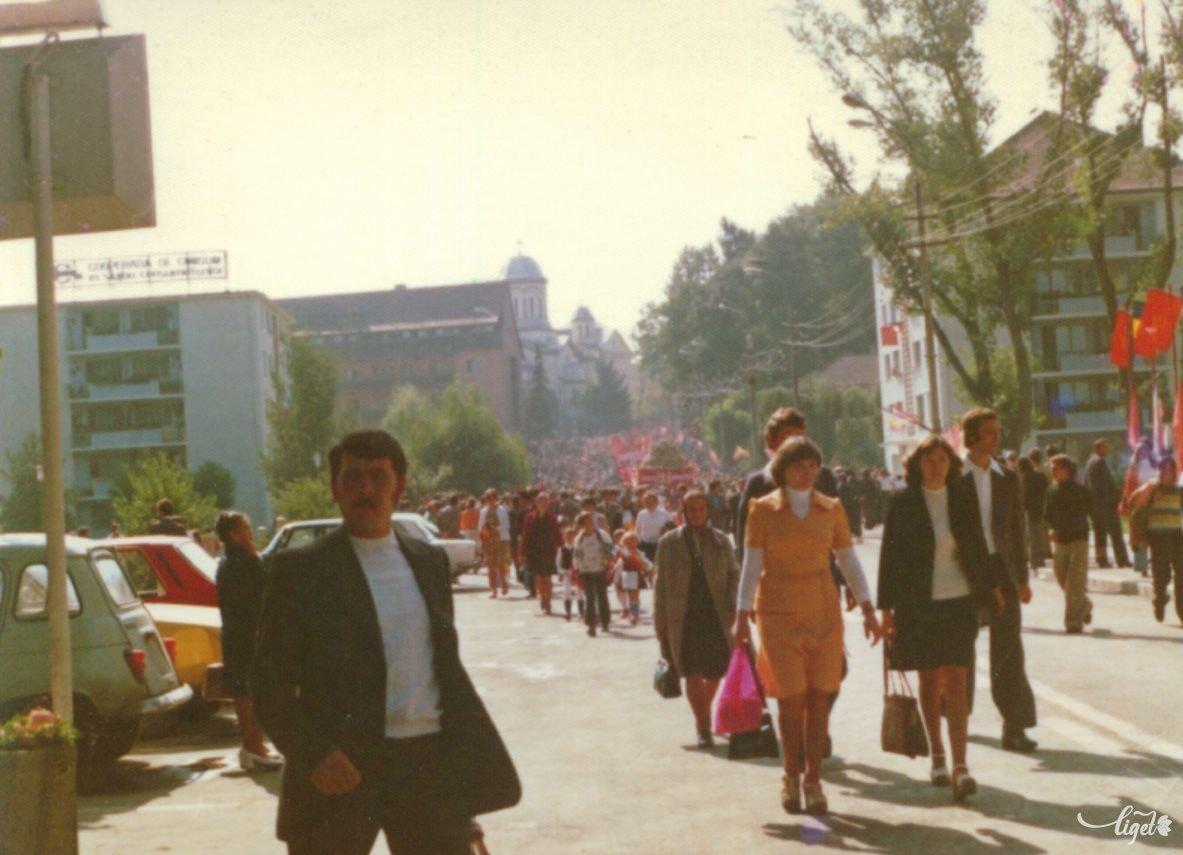 1980. augusztus 23. (Járai István felvétele – Balogh Noémi és Birta Noémi gyűjtése) •  Fotó: A Nagy Imre Általános Iskola diákjainak gyűjtése