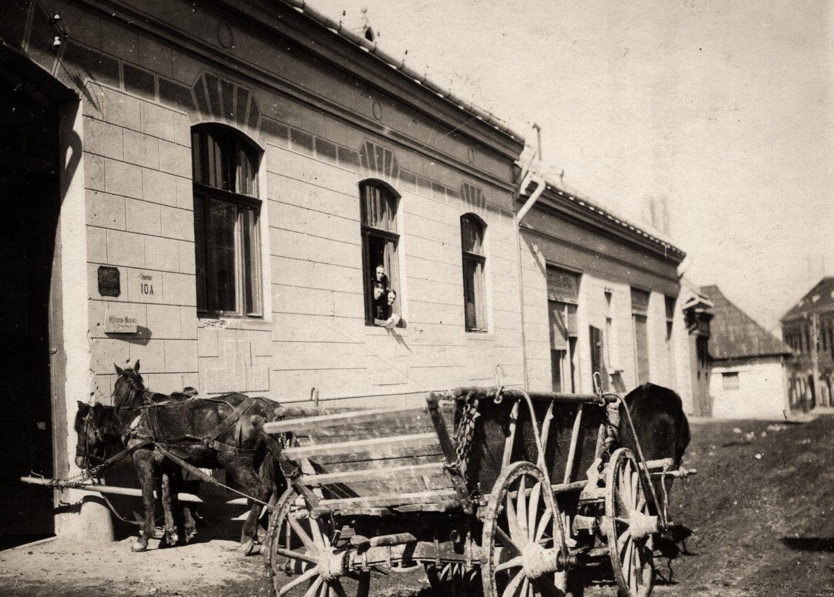 Petőfi Sándor utca - 1916 •  Fotó: Fortepan
