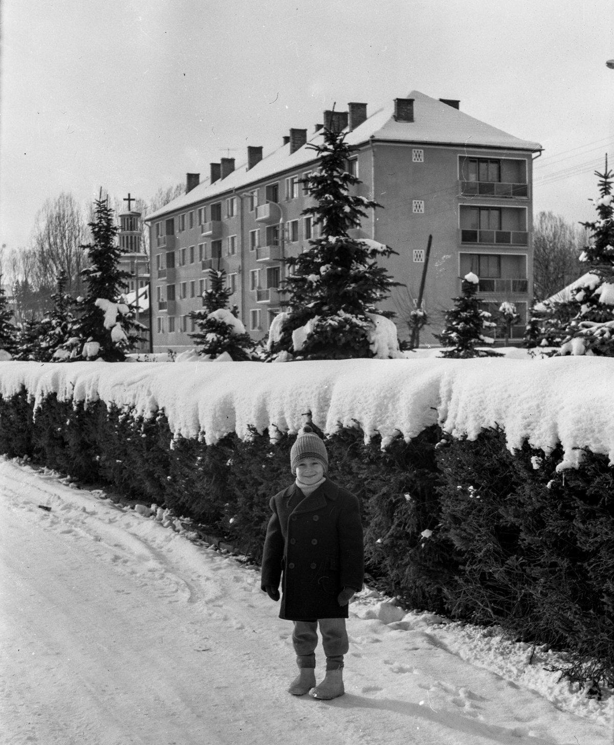 Csíkszereda, Lenin utca, 1962 •  Fotó: Szabó Miklós/Nagy Gyöngyvér archívuma