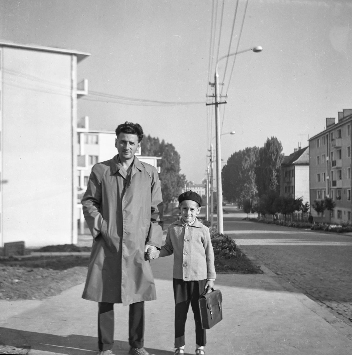 Csíkszereda, Lenin utca, 1964 •  Fotó: Szabó Miklós/Nagy Gyöngyvér archívuma