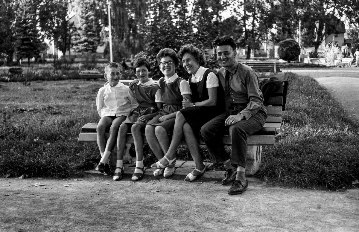 Csíkszereda, park, 1966 •  Fotó: Szabó Miklós/Nagy Gyöngyvér archívuma