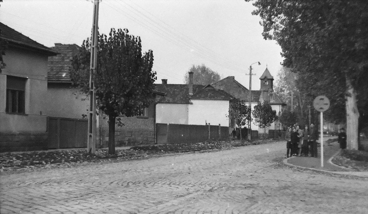 Csíkszereda, Vörös Grivica utca, 1969 •  Fotó: Szabó Miklós/Nagy Gyöngyvér archívuma