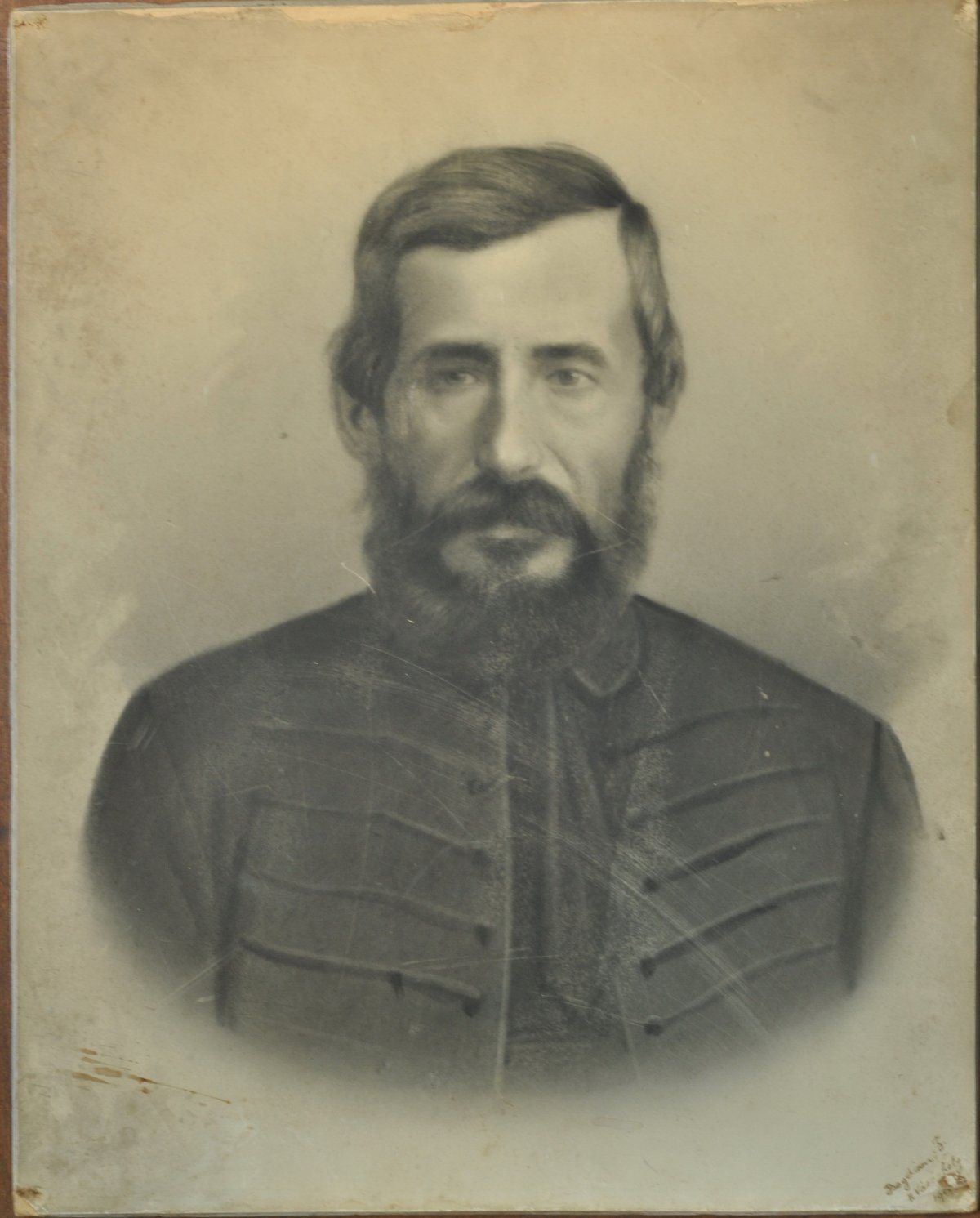 Az ükapa Bogdán István, 1860 •  Fotó: Nagy Gyöngyvér személyes archívuma