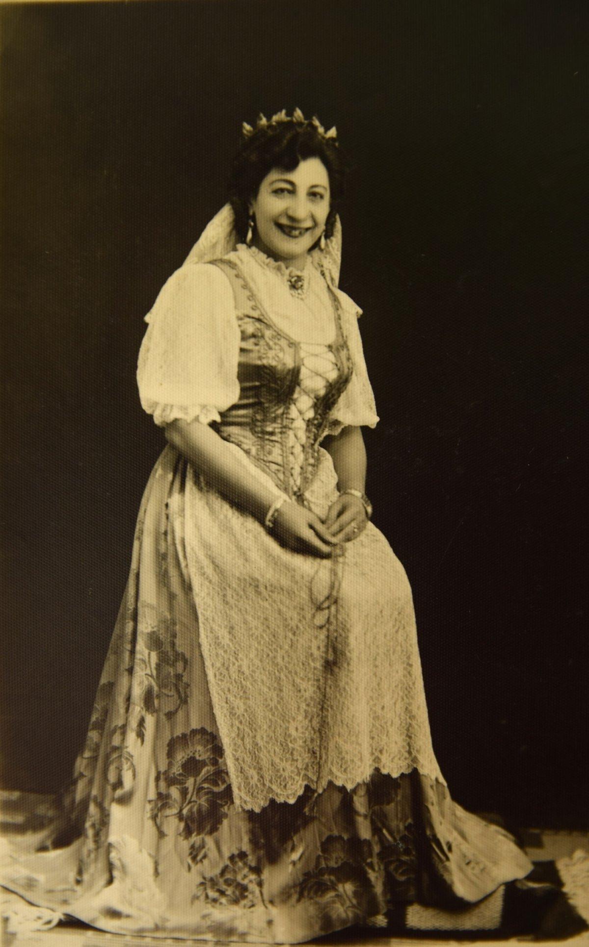 Nagy Gabriella, 1943 •  Fotó: Nagy Gyöngyvér személyes archívuma