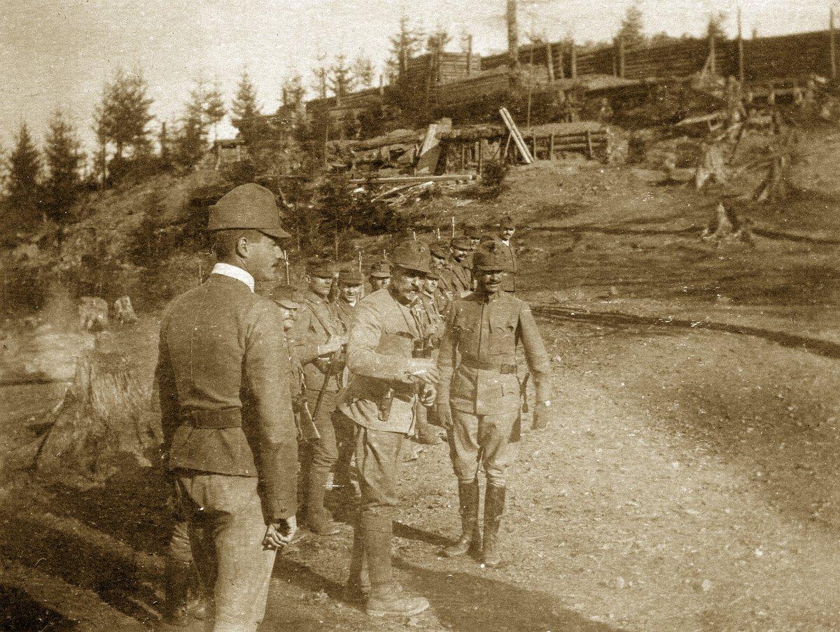 Magyar harcvonal, Bukovina, 1916 •  Fotó: Molnár Attila gyűjteménye