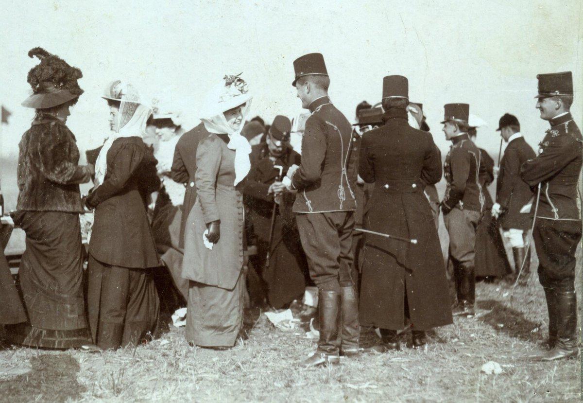 Ez még a boldog, békebeli időket idézi, 1914 elején •  Fotó: Molnár Attila gyűjteménye