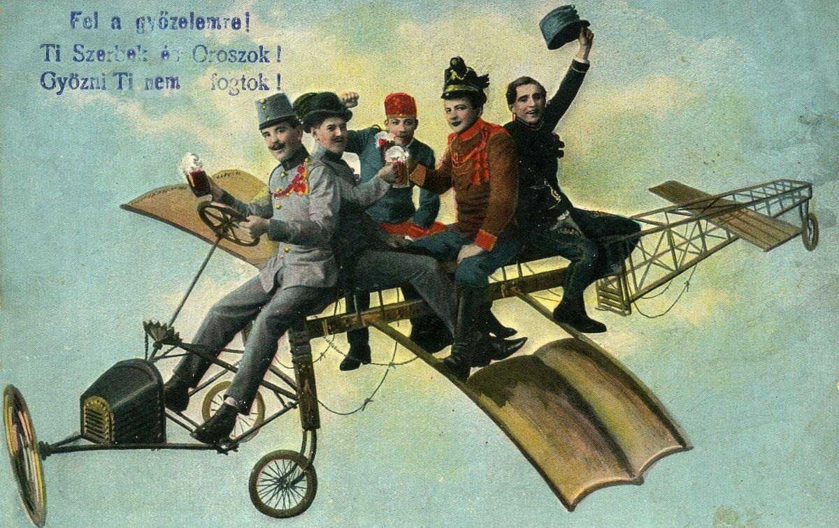 Háborús propagandaképeslap, 1914 •  Fotó: Molnár Attila gyűjteménye
