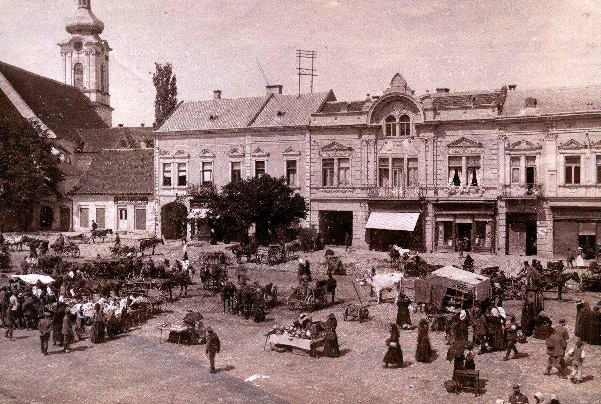 Kézdivásárhely, német katonai fénykép, 1916 •  Fotó: Molnár Attila gyűjteménye