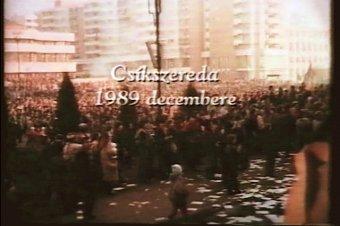 A ránk szakadt szabadság: 1989 decembere Csíkszeredában