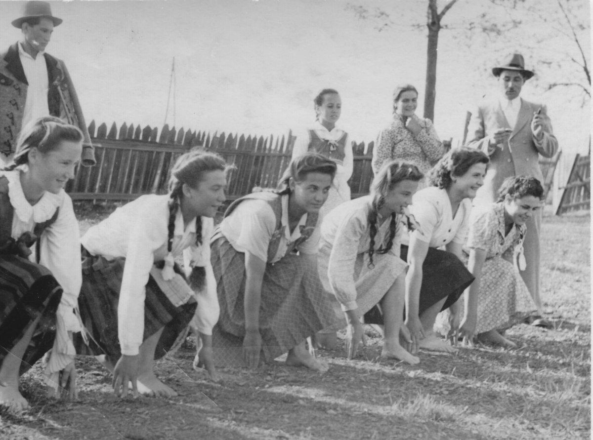 Csíkmadaras – 1949. május 22. •  Fotó: Forrás: Csíki Székely Múzeum