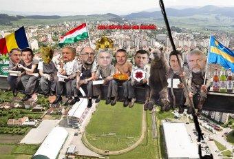 Görbe tükör az erdélyi közéletről: a Csej7 csoport története