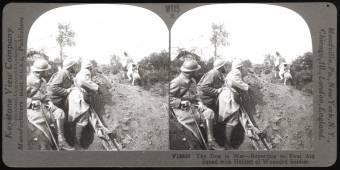 Térhatású fényképek a Nagy Háborúból