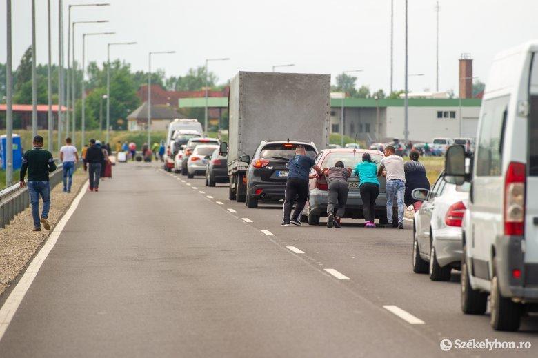 Román határrendészet: közel százezren lépték át a határt az elmúlt 24 órában