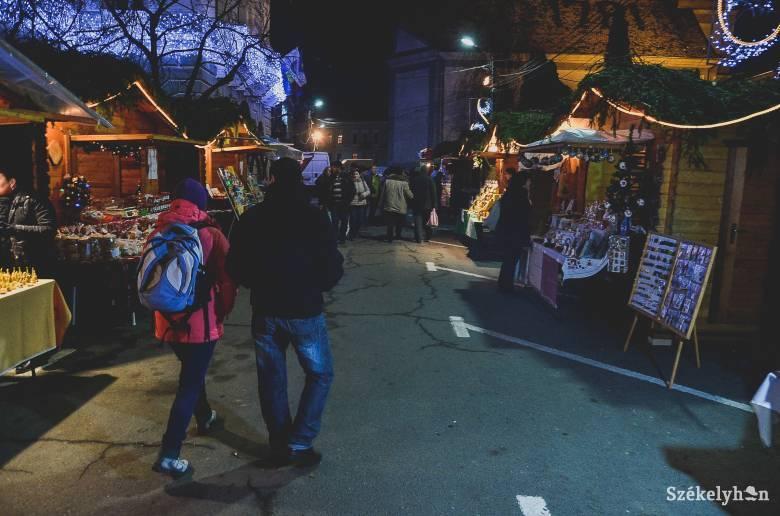 Ötnapos karácsonyi vásárt szeretnének a kereskedők, erre azonban nincs lehetőség
