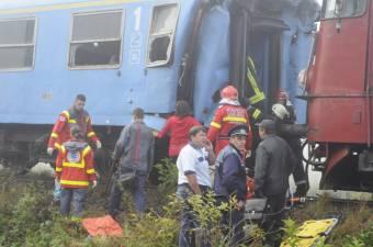 Vonatok ütköztek a ploiești-i vasútállomáson – tizenegyen kerültek kórházba