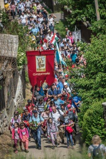 A pápalátogatást követő csíksomlyói búcsú fotókon