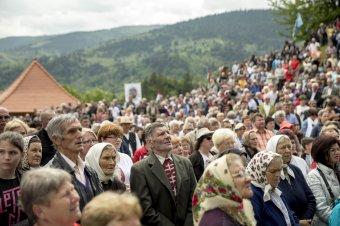 Ezrek zarándokoltak a kontumánci Nagyboldogasszony-kápolnához pünkösdvasárnap