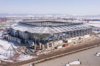 Épül, szépül a Sepsi OSK új otthona: már a nyáron megnyithatja kapuit az új szentgyörgyi stadion (képriporttal)
