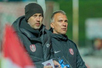 Összefogásra biztat a Kolozsvári CFR vezetőedzője