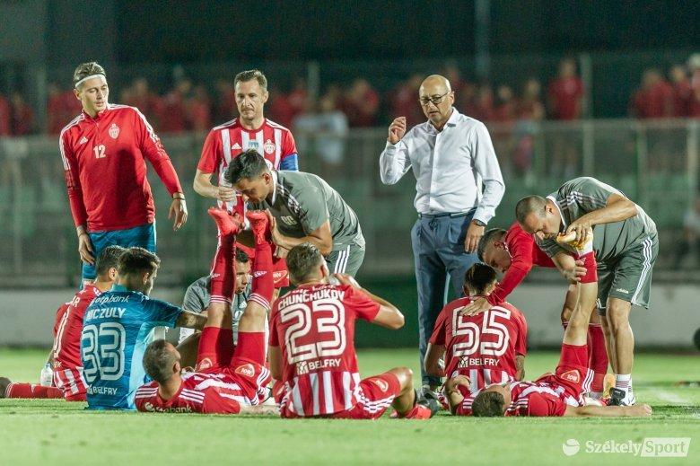 Nagyot küzdöttek a játékosok, büszke rájuk a Sepsi OSK edzője