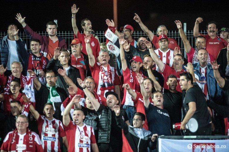 Sepsi OSK: elkezdték a jegyértékesítést a következő két hazai meccsre