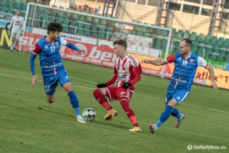 Az FC Botoșani rúgta a gólokat, a Sepsi 2–1-re kikapott