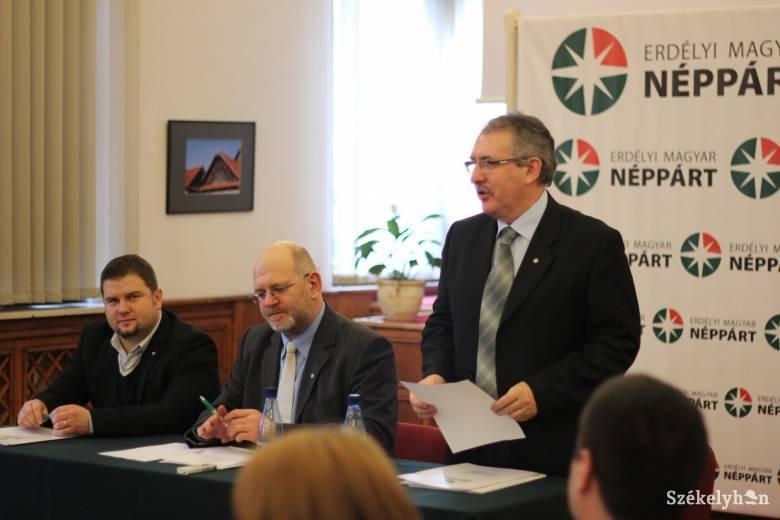 Közlemény: Tőkés László Fidesz-listán való indulását javasolja a Néppárt