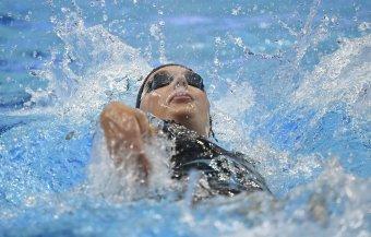 Hosszú Katinka arany-, Mihályvári-Farkas Viktória ezüstérmes női 400 méter vegyesen a vizes Eb-n