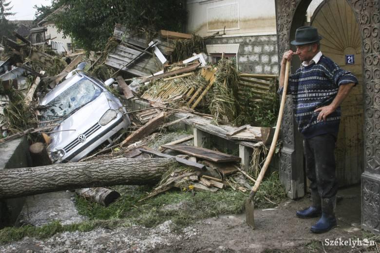 Tizenöt éve pusztított a hatalmas árvíz Udvarhelyszéken
