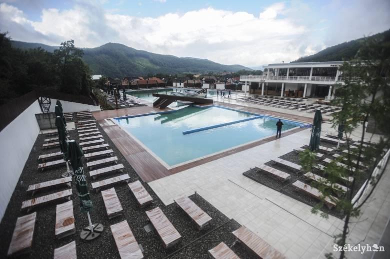 Megnyitják szombaton a parajdi új strandot