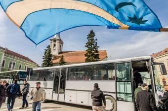 Buszokkal a Székely Szabadság Napjára