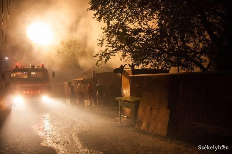 Idős nő vesztette életét a szentegyházi háztűzben