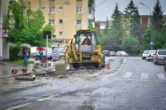 Műszaki meghibásodás miatt nincs víz egy udvarhelyi utcában