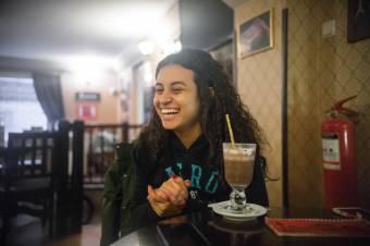 A hó miatt is jött Erdélybe tanulni a brazil cserediák
