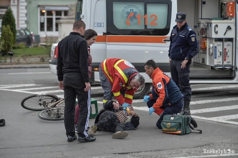 Szabálytalanul közlekedő kerékpárost ütöttek el