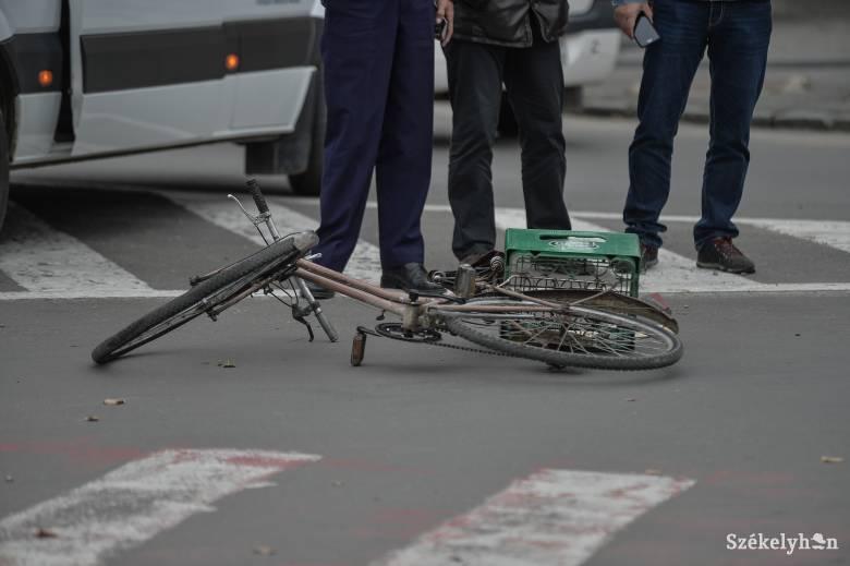 Kerékpárost gázolt, elmenekült a helyszínről