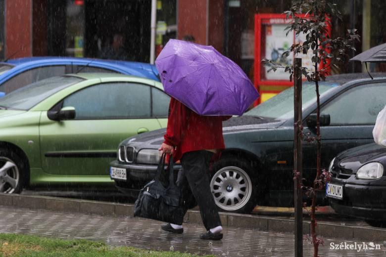 Esőre, viharokra kell számítani Hargita megyében is