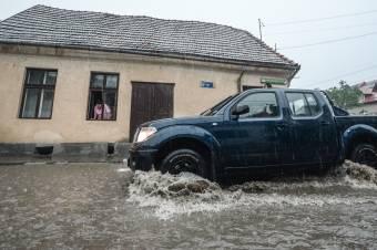 Másodfokú viharriadót adtak ki az ország egy részére