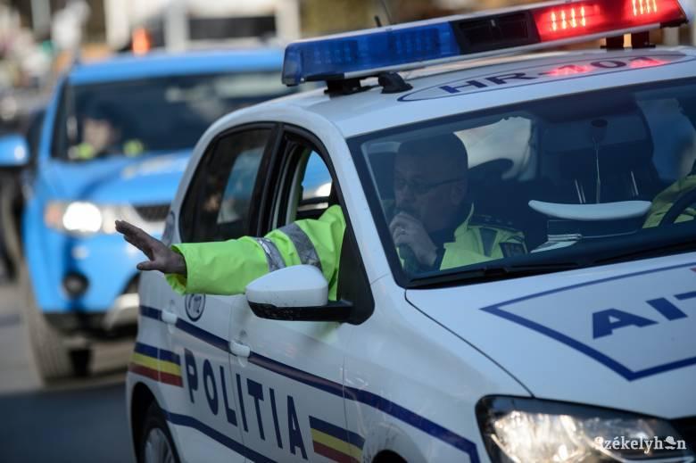 """15 éves """"sofőrt"""" kapcsoltak le a rendőrök"""