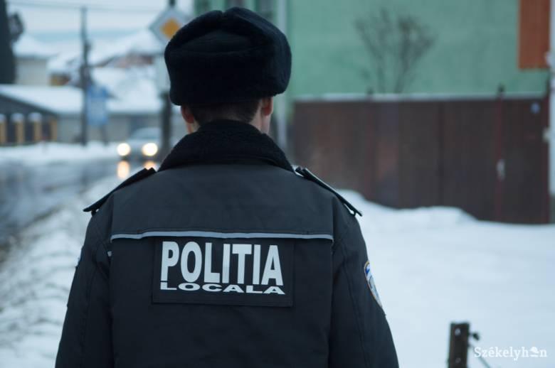 Nem lesz igazgatója, csak osztályvezetője a csíkszeredai helyi rendőrségnek
