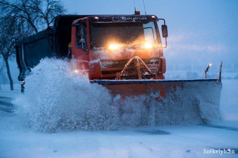 Hóvihar-riasztást adtak ki Románia déli részére