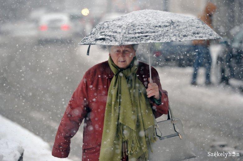 Újból havazásra figyelmeztetnek a meteorológusok