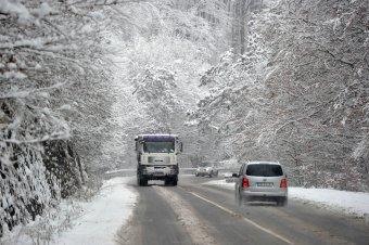 Nagyon hidegre, havazásra, hóviharokra figyelmeztetnek a meteorológusok