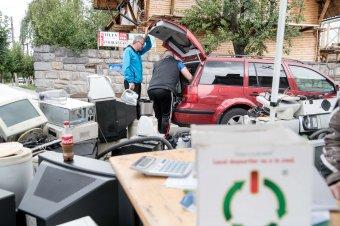 Ismét lehetőség lesz elektronikai hulladék leadásra Székelyudvarhelyen