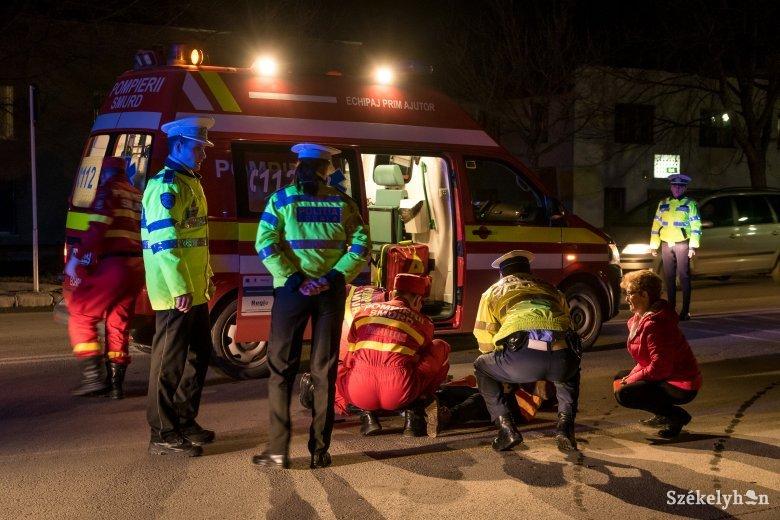 Súlyosan megsérült a gyalogost gázoló ittas robogós utasa