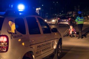 Kerékpárost ütöttek el Udvarhelyen